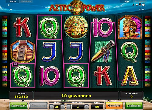 Aztec Power neu im Stargames Casino