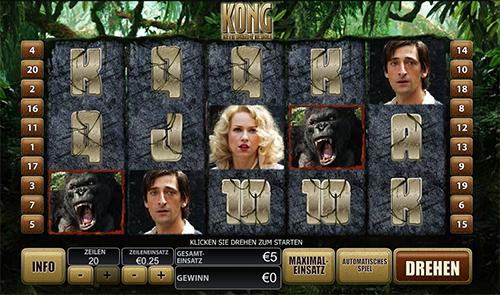 eurogrand online slot kong