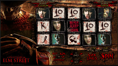 nightmare online slot 888 casino