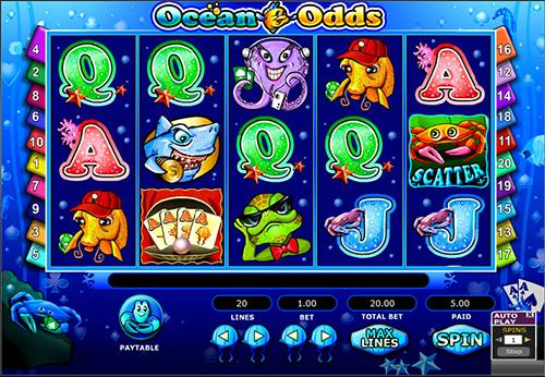 ocean odds online slot im 888 casino