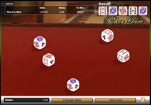 poker dice im 888 casino