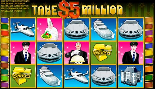 take 5 million online slot im william hill casino